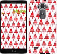 """Чехол на LG G Flex2 Christmas trees """"3856u-287-716"""""""