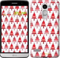 """Чехол на LG Ray / X190 Christmas trees """"3856u-244-716"""""""