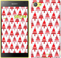 """Чехол на Sony Xperia Z5 Compact E5823 Christmas trees """"3856c-322-716"""""""