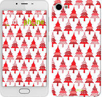"""Чехол на Meizu U10 Christmas trees """"3856u-415-716"""""""