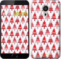 "Чехол на Meizu MX5 Christmas trees ""3856c-105-716"""