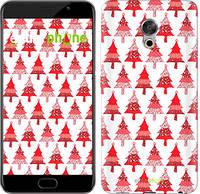"Чехол на Meizu Pro 6 Plus Christmas trees ""3856u-678-716"""