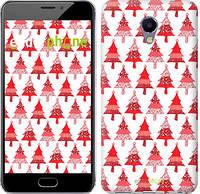 """Чехол на Meizu M5 Note Christmas trees """"3856c-447-716"""""""