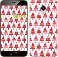 """Чехол на Meizu M5 Christmas trees """"3856u-420-716"""""""