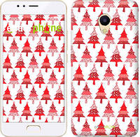"Чехол на Meizu M5s Christmas trees ""3856u-776-716"""