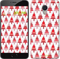 """Чехол на Meizu M3 Note Christmas trees """"3856c-256-716"""""""