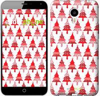 """Чехол на Meizu M1 Note Christmas trees """"3856u-172-716"""""""