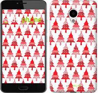 """Чехол на Meizu M3 Christmas trees """"3856c-272-716"""""""