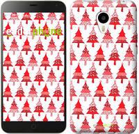 """Чехол на Meizu M1/M1 mini Christmas trees """"3856u-188-716"""""""