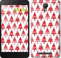 "Чехол на Xiaomi Redmi Note 2 Christmas trees ""3856c-96-716"""