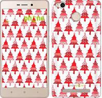 "Чехол на Xiaomi Redmi 3x Christmas trees ""3856c-441-716"""