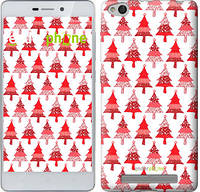 "Чехол на Xiaomi Redmi 3 Christmas trees ""3856c-97-716"""