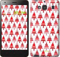 "Чехол на Xiaomi Redmi 2 Christmas trees ""3856c-98-716"""