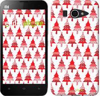 "Чехол на Xiaomi Mi2 Christmas trees ""3856u-191-716"""