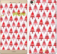 "Чехол на Huawei P8 Max Christmas trees ""3856u-371-716"""