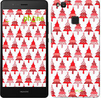 "Чехол на Huawei P9 Lite Christmas trees ""3856c-298-716"""