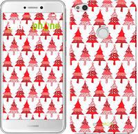 "Чехол на Huawei P8 Lite (2017) Christmas trees ""3856c-777-716"""
