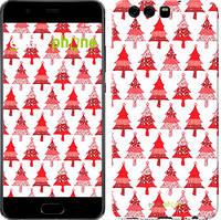 """Чехол на Huawei P10 Christmas trees """"3856c-780-716"""""""