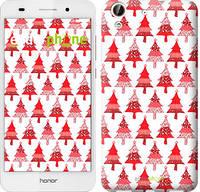 """Чехол на Huawei Honor 5A Christmas trees """"3856u-456-716"""""""