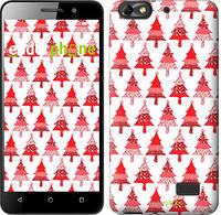 """Чехол на Huawei Honor 4C Christmas trees """"3856c-183-716"""""""