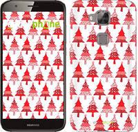"""Чехол на Huawei G7 Plus Christmas trees """"3856c-952-716"""""""