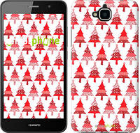 """Чехол на Huawei Y6 Pro Christmas trees """"3856c-355-716"""""""