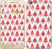 """Чехол на Huawei Y6 II Christmas trees """"3856c-338-716"""""""