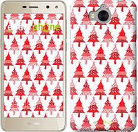 """Чехол на Huawei Y5 2017 Christmas trees """"3856u-992-716"""""""