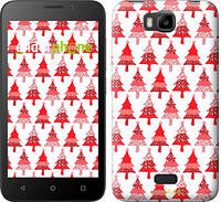 "Чехол на Huawei Ascend Y5C Christmas trees ""3856u-146-716"""