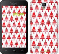 """Чехол на Huawei Ascend Y5 DS/Y560 Christmas trees """"3856u-340-716"""""""
