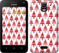 """Чехол на Huawei Ascend Y3C Christmas trees """"3856u-296-716"""""""