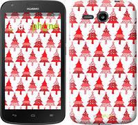 """Чехол на Huawei Ascend Y600 Christmas trees """"3856u-486-716"""""""