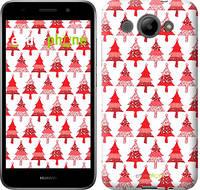 """Чехол на Huawei Y3 2017 Christmas trees """"3856u-991-716"""""""