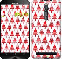 """Чехол на Asus Zenfone 2 ZE551ML Christmas trees """"3856c-122-716"""""""