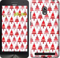 """Чехол на Asus ZenFone 6 A600CG Christmas trees """"3856u-143-716"""""""