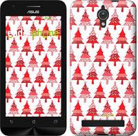 """Чехол на Asus ZenFone C ZC451CG Christmas trees """"3856u-181-716"""""""