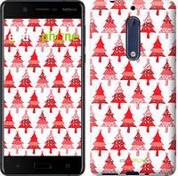 "Чехол на Nokia 5 Christmas trees ""3856u-804-716"""