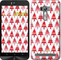"Чехол на Asus ZenFone Selfie ZD551KL Christmas trees ""3856c-116-716"""