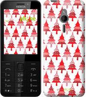 "Чехол на Nokia 230 Christmas trees ""3856u-339-716"""