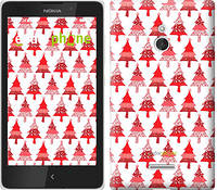 "Чехол на Nokia XL Christmas trees ""3856u-500-716"""