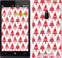 "Чехол на Nokia Lumia 830 Christmas trees ""3856u-329-716"""