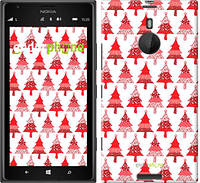 "Чехол на Nokia Lumia 1520 Christmas trees ""3856u-314-716"""