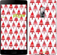"Чехол на OnePlus 2 Christmas trees ""3856u-386-716"""