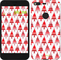 """Чехол на Google Pixel Christmas trees """"3856c-400-716"""""""