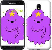 "Чехол на Samsung Galaxy J7 J730 (2017) Принцесса Пупырка. Adventure Time. Lumpy Space Princess v2 ""1221c-786-716"""