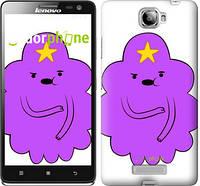 "Чехол на Lenovo S856 Принцесса Пупырка. Adventure Time. Lumpy Space Princess v2 ""1221u-235-716"""