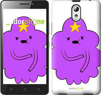 "Чехол на Lenovo Vibe P1m Принцесса Пупырка. Adventure Time. Lumpy Space Princess v2 ""1221c-154-716"""