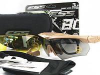 Тактические очки с поляризацией, ESS Crossbow (койот)