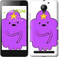 "Чехол на Lenovo Vibe C2 Принцесса Пупырка. Adventure Time. Lumpy Space Princess v2 ""1221c-397-716"""