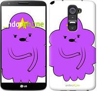 "Чехол на LG G2 Принцесса Пупырка. Adventure Time. Lumpy Space Princess v2 ""1221u-37-716"""